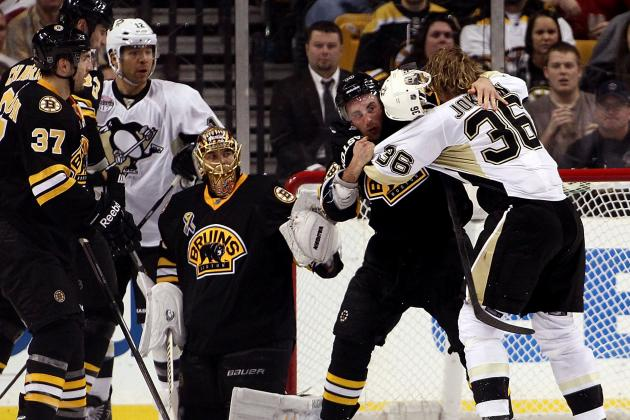 Reports: Bruins-Penguins Series to Start Saturday Night