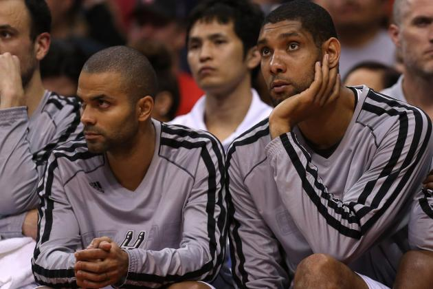 Tony Parker: It's My Turn to Win a Title for Tim Duncan with San Antonio Spurs