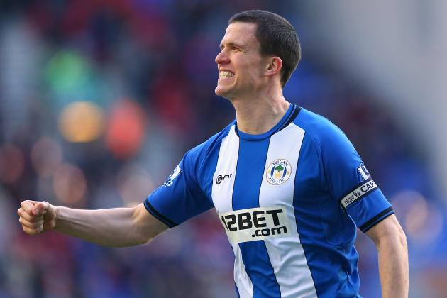 Wigan Defender Gary Caldwell Set for Hip Surgery Next Week