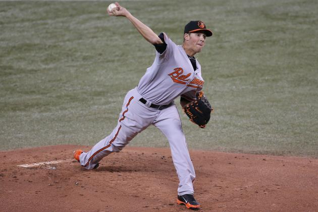 Gausman Learning How to Handle Big League Hitters