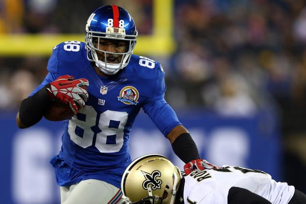 Hakeem Nicks Willing to Play Out Rookie Contract