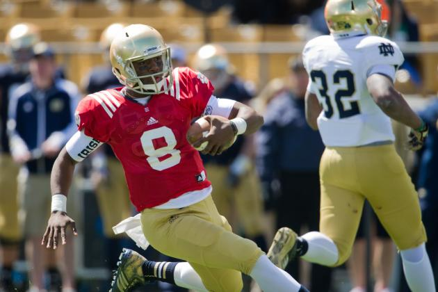 Notre Dame Football: Will Brian Kelly Burn QB Malik Zaire's Redshirt Season?