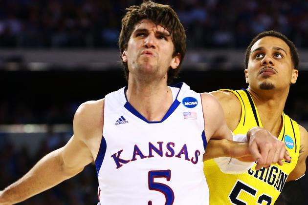 Jeff Withey Works Out with Boston Celtics