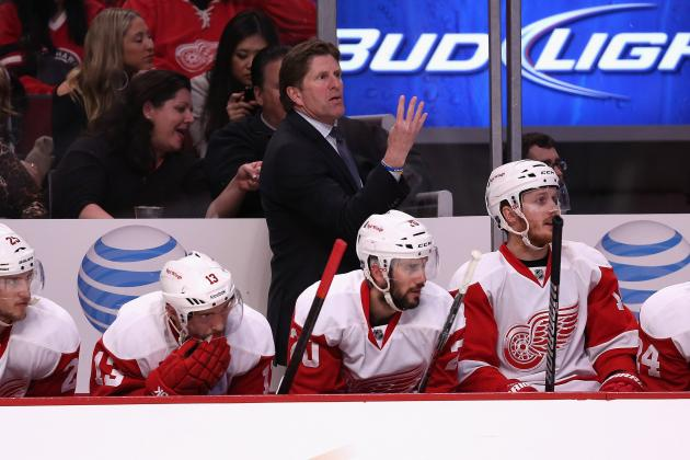 Mike Babcock: Top 5 Spin Doctor Comments from Red Wing Coach's Postgame Presser