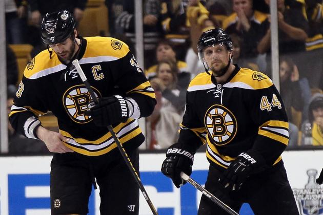 Bruins Keep Chara and Seidenberg Together at Practice