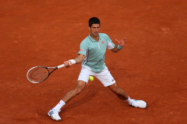 Novak Djokovic Defeats David Goffin to Advance at 2013 French Open