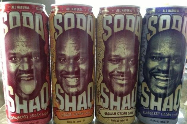 Shaquille O'Neal Set to Launch Own Brand of Soda