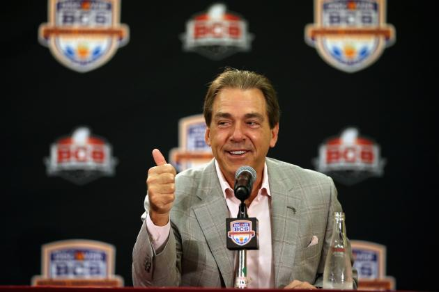 Nick Saban Takes a Shot at Ohio State During SEC Spring Meetings