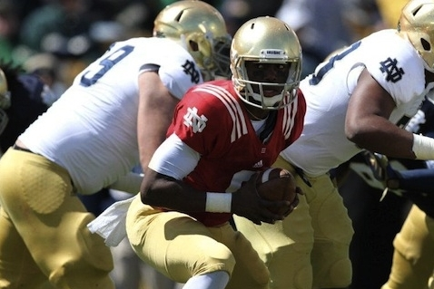 Notre Dame Football 2013: Breaking Down the Irish's Quarterback Scenario
