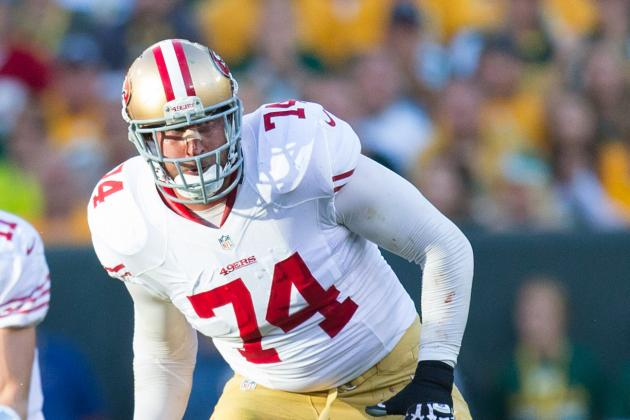 Report: Joe Staley Had OffSeason Arthroscopic Surgery