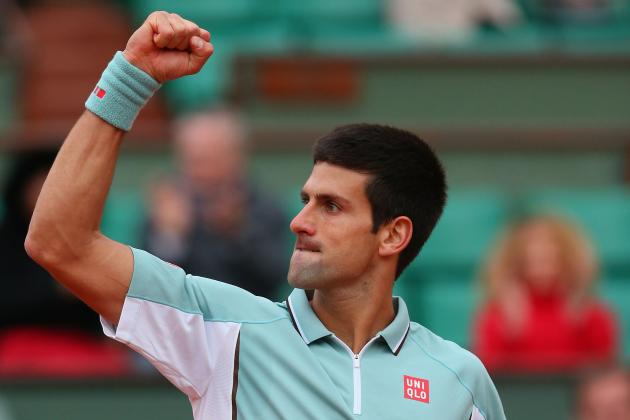 Novak Djokovic Will Power Past Guido Pella in 2nd Round at 2013 French Open