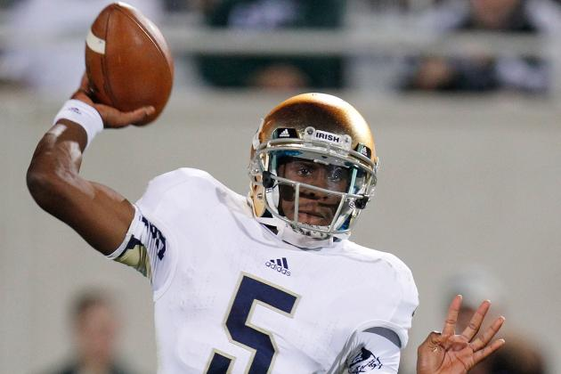 No Everett Golson Opens Door for 1- or 2-Loss 2013 for Michigan Wolverines
