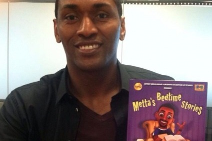 Metta World Peace Drops Children's Book for All You Basketball Kiddies Out There