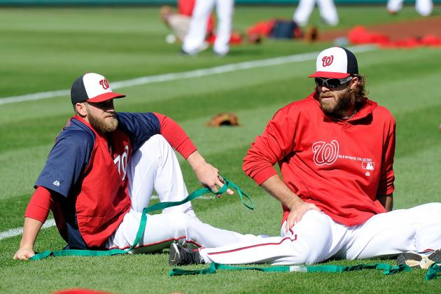 Nationals Injury List Continues to Grow
