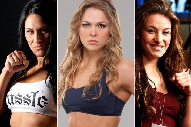 UFC Confirms Ronda Rousey vs. Miesha Tate with TUF 18 Staredown Photo