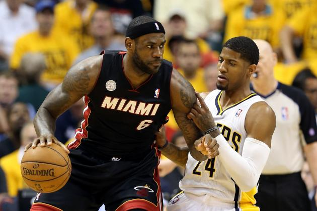 NBA Playoff Schedule 2013: Complete Viewing Guide for Game 5 of Pacers-Heat