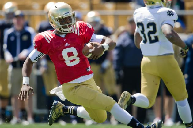 Notre Dame Football: Malik Zaire Can Lead Irish Return to BCS If Given Chance