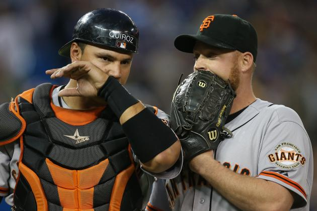 San Francisco Giants Rookie Receives Rude Welcome