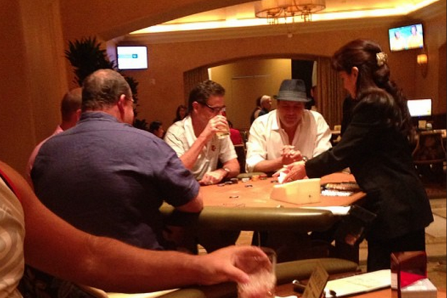 Rick Pitino Has Been Gambling and Going to Town in Las Vegas for 5 Days