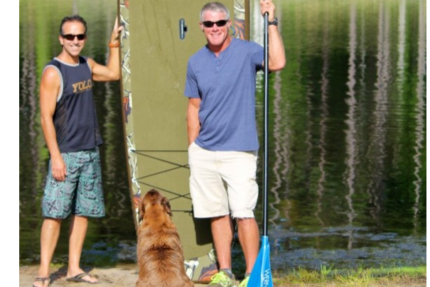 Brett Favre Goes YOLO with his Dog