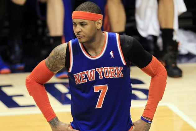 Report: Carmelo Anthony Wants Knicks to Add Another Scorer