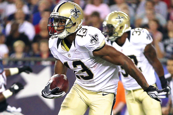 Saints WR Joe Morgan Arrested for DWI and Driving Without a License
