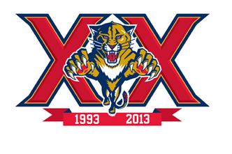 Florida Panthers To Celebrate 20th Anniversary Season