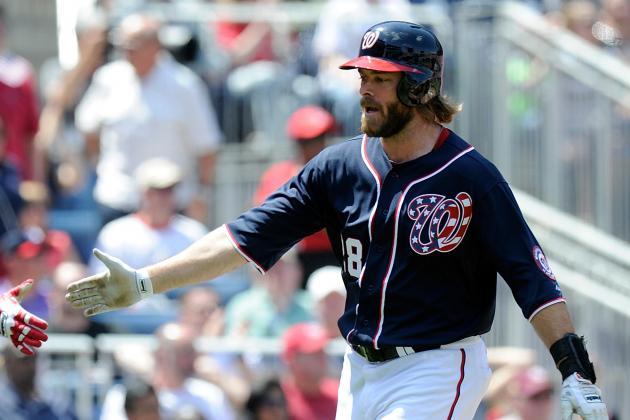Jayson Werth Expected to Rehab in Potomac; Ross Detwiler to Miss Sunday Start