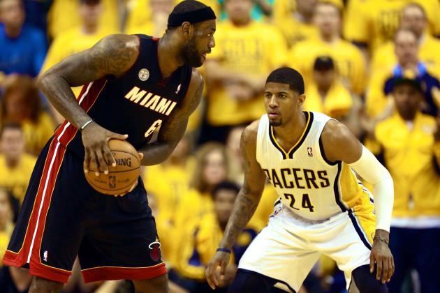 Who Has Edge in Indiana Pacers and Miami Heat's New Best-of-3 Series?