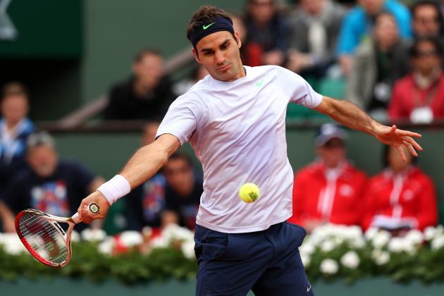 Roger Federer Defeats Somdev Devvarman to Advance at 2013 French Open