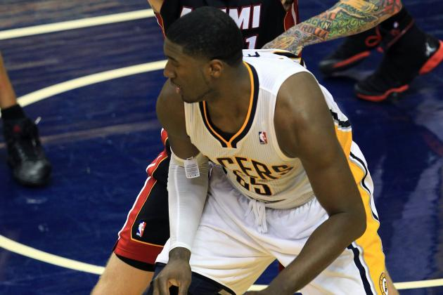 Pacers' Roy Hibbert Showing He's More Than Just a Defensive Presence