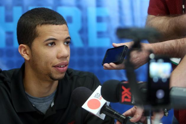 Michael Carter-Williams: Being Drafted by Celtics 'Would Be a Blessing'