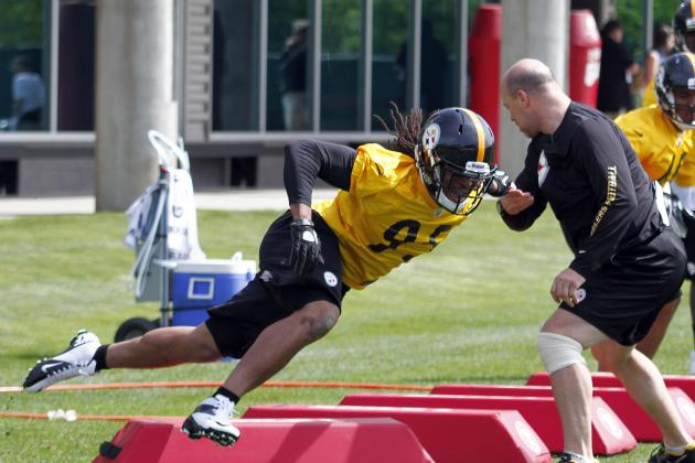 Video: Defensive Line Doing Work at OTAs