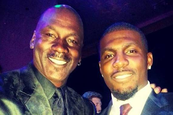 Cowboys' Dez Bryant Promises to Behave for NBA Legend Michael Jordan