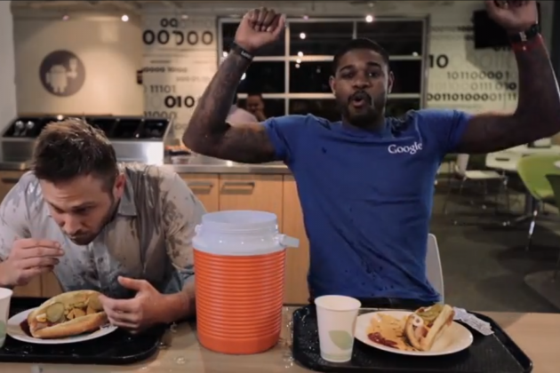 Watch: Amir Johnson Visits Google