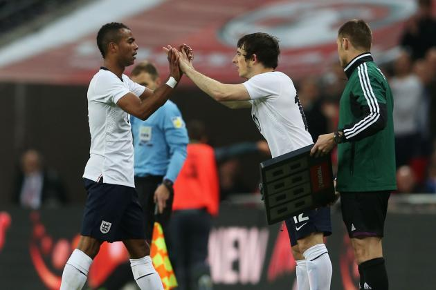 England 1-1 Republic of Ireland: Baines Stakes a Claim on Cole's Big Night