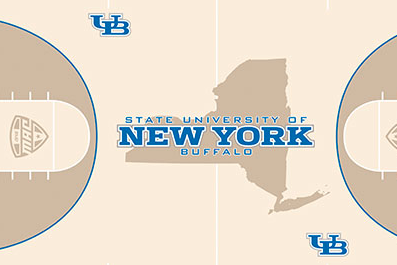 University at Buffalo Athletics Reveals New Floor Design for Alumni Arena