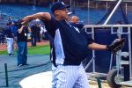 Jeter Cleared to Throw, Plays Catch Without Boot
