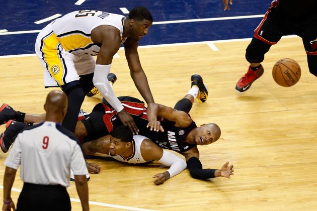 2013 NBA Playoffs: Pacers vs. Heat Provides Ultimate Clash of Styles
