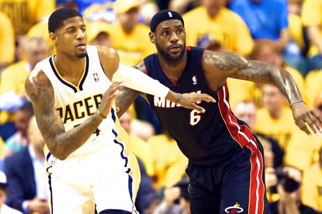 Heat vs. Pacers: Paul George and LeBron James Creating NBA's Next Great Rivalry
