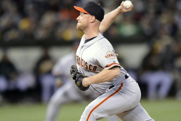 Twitter / JohnSheaHey: Bochy: Gaudin likely to start ...
