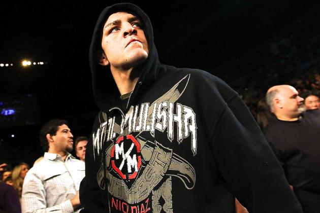 Nick Diaz's Promotion Announces Fight Card, Rule Differences for Debut Show