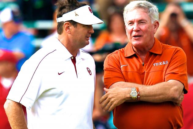 Mack Brown vs. Bob Stoops: Whose Recruiting Style Is Most Effective?