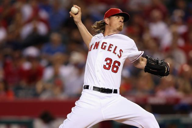 Weaver Wins in Return as Angels Edge Dodgers
