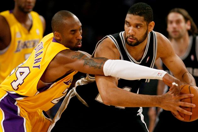 Who Has the Better Career Resume, Kobe Bryant or Tim Duncan?