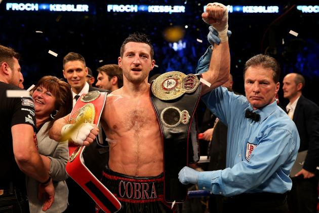 Who Should Carl Froch Fight to Finish His Career?