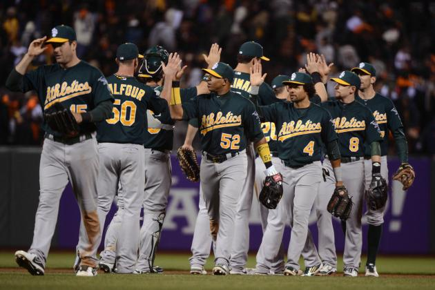 Oakland A's Make Statement in Taking Series from Defending Champion Giants