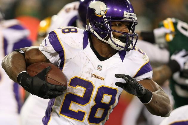 Healthy Adrian Peterson Wants More Balls Thrown His Way