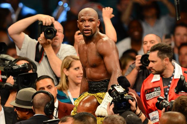 Mayweather vs. Canelo: Money Deserves Praise for Agreeing to High-Profile Fight