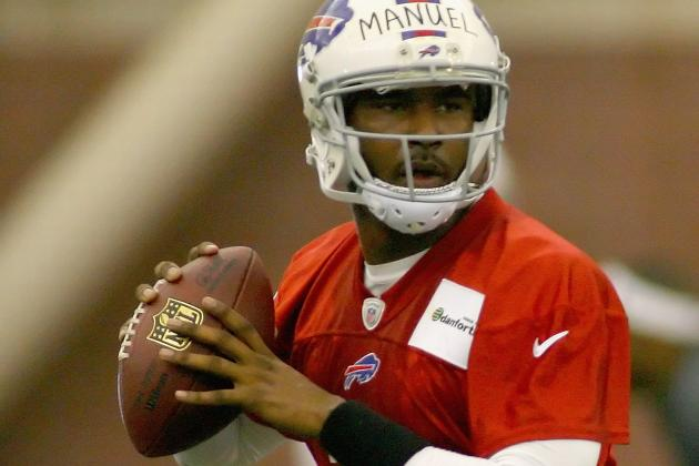 EJ Manuel Third in Line for Snaps at Buffalo Bills OTAs